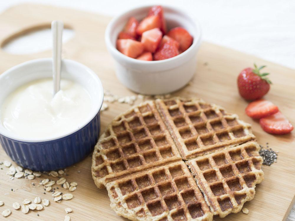 Healthy Gluten Free Energy Boosting Waffles Recipe _ Coco Loco Holland and Barrett