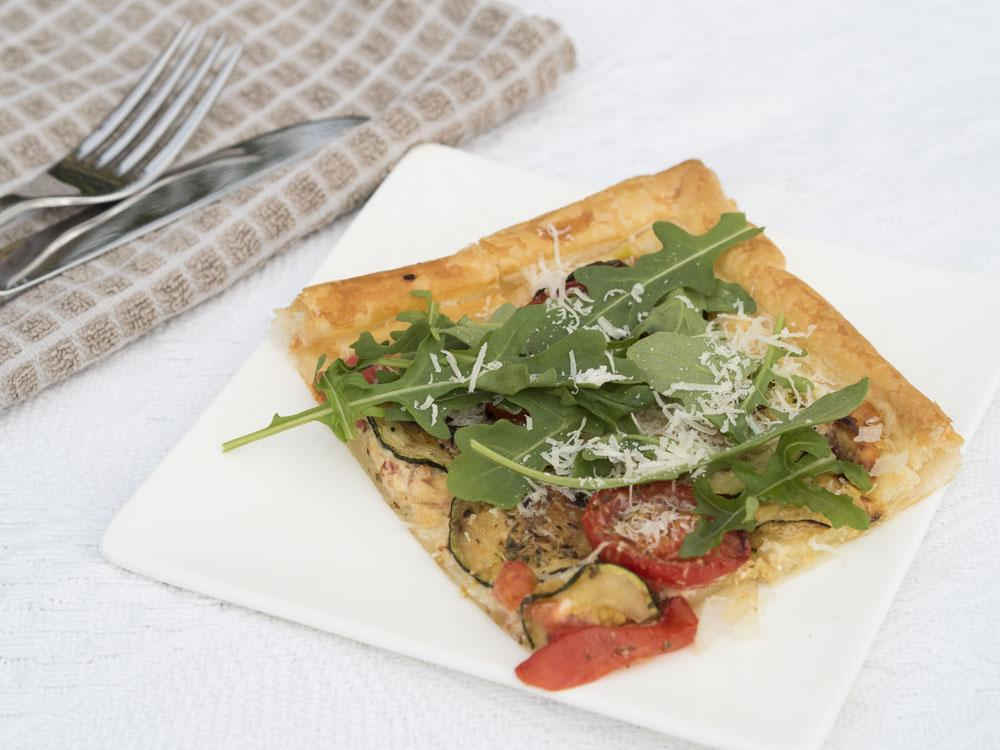 My Holiday Dish _Sun-Dried Tomato Mediterranean Tart Recipe