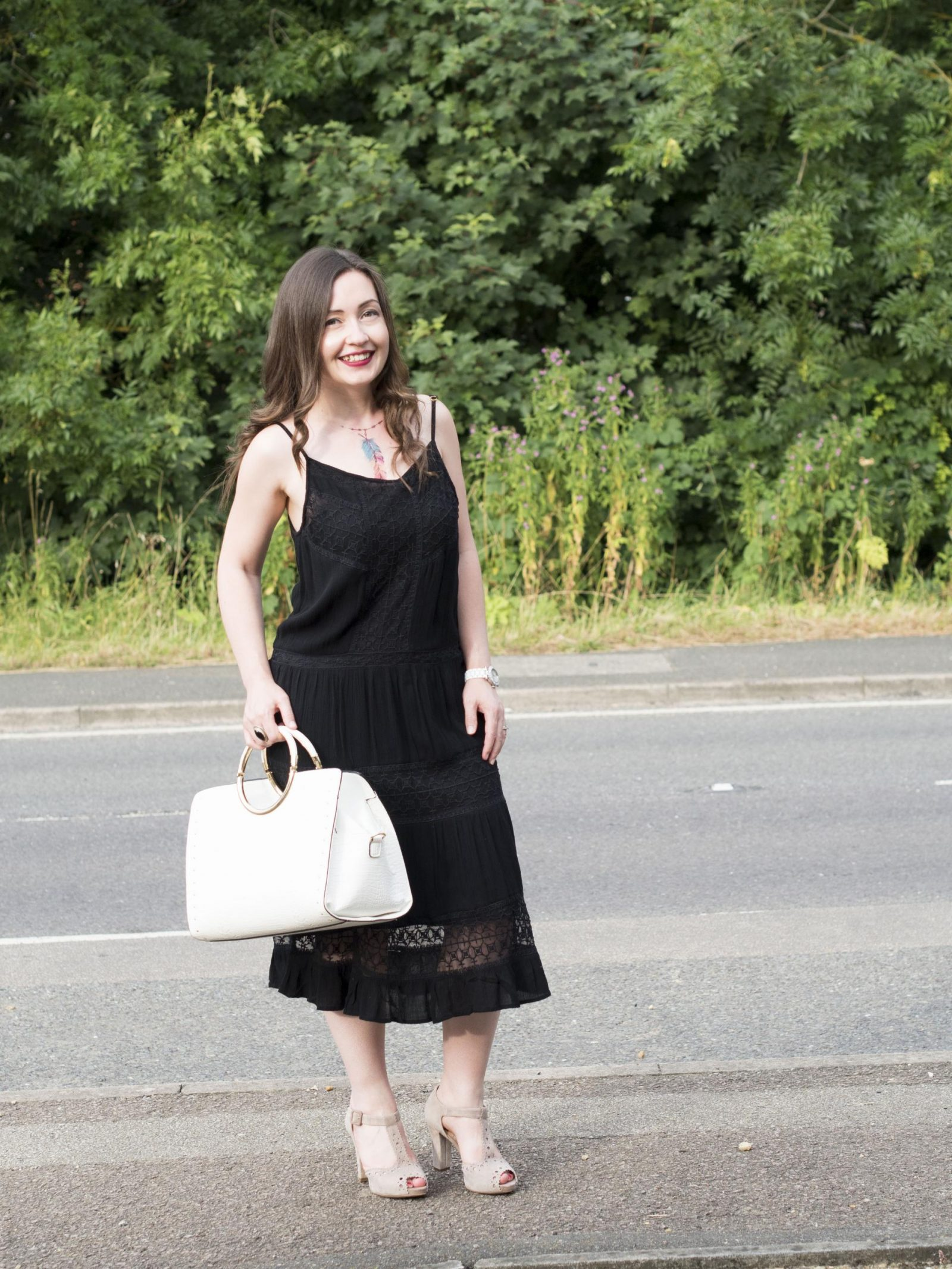Outfit of the Month OOTM Boohoo Embroidered Dress 7