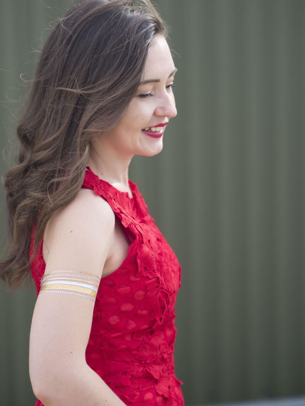 The Little Red Dress Wedding Guest OOTD 10