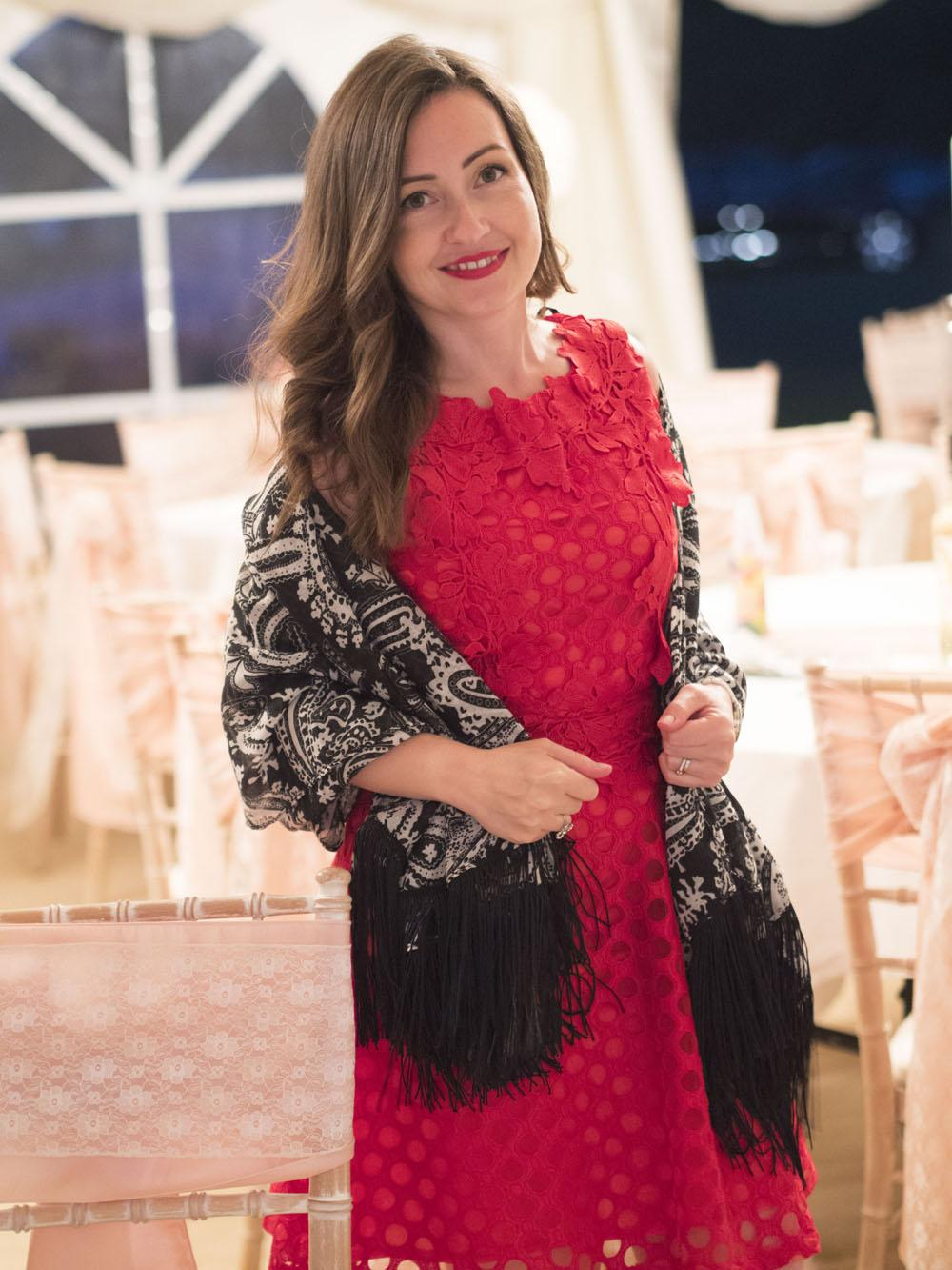 The Little Red Dress | Wedding Guest OOTD - Loved By Laura