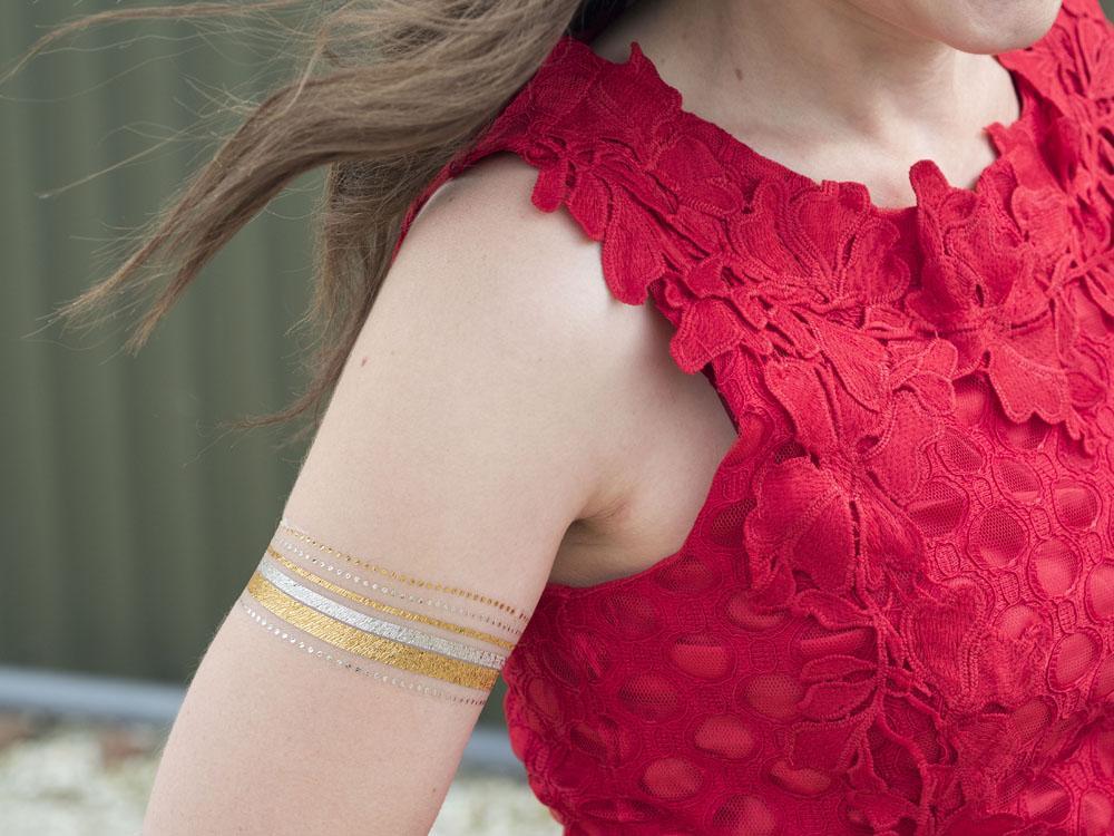 The Little Red Dress Wedding Guest OOTD