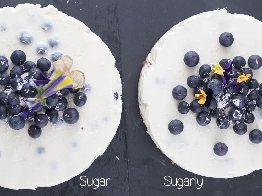 Canderel Taste Test | Low Sugar Blueberry & Lemon Cheesecake Recipe