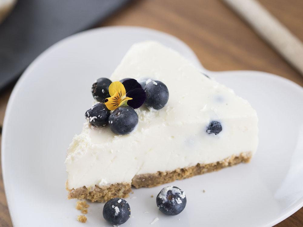 Canderel Taste Test   Low Sugar Blueberry & Lemon Cheesecake Recipe