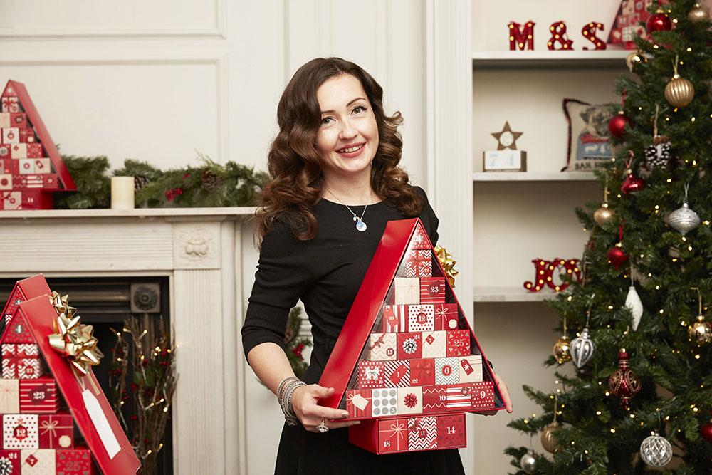 Marks and Spencers #BeautyAdvent Calendar 1