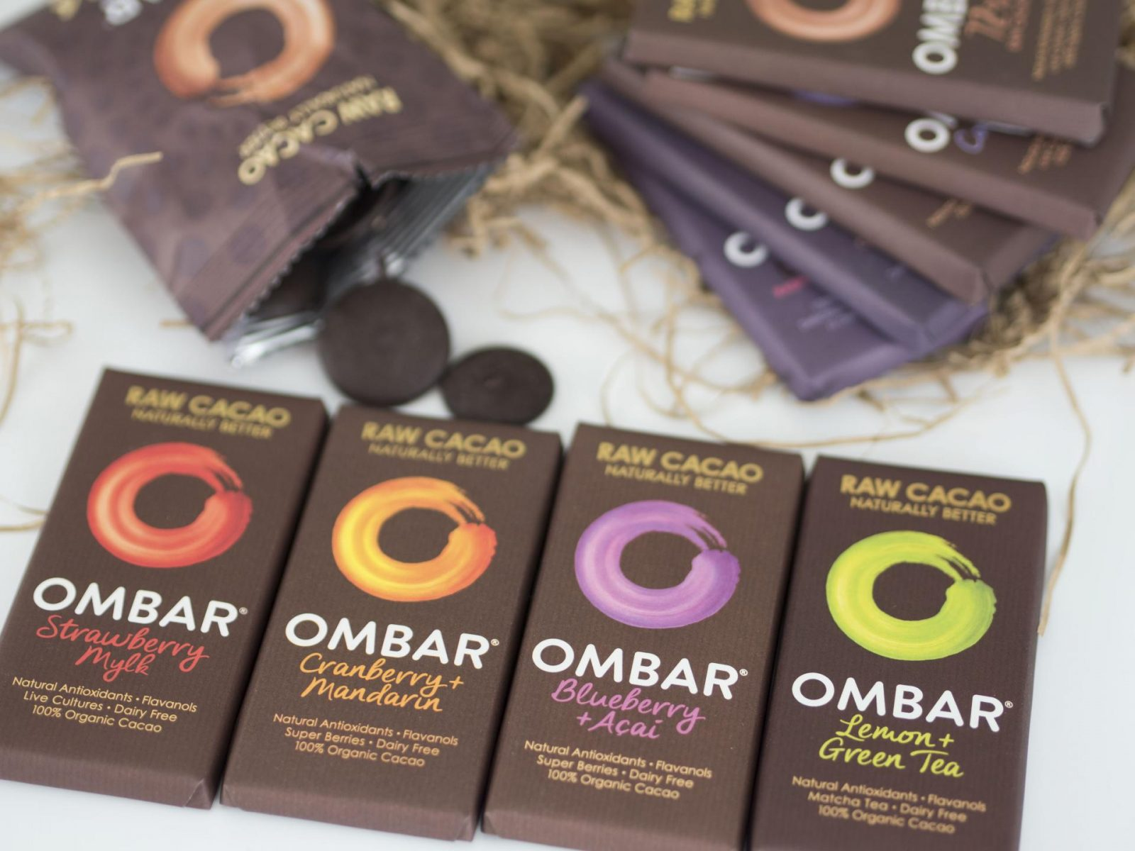The Happy List - Moving On Ombar Chocolate