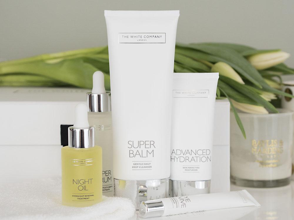 The White Company Advanced Skincare Collection Launch