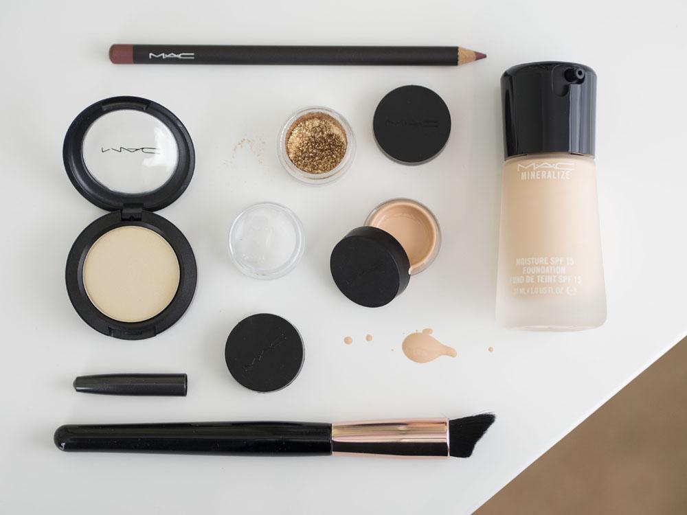 M∙A∙C Cosmetics Makeover _ #QBloggers