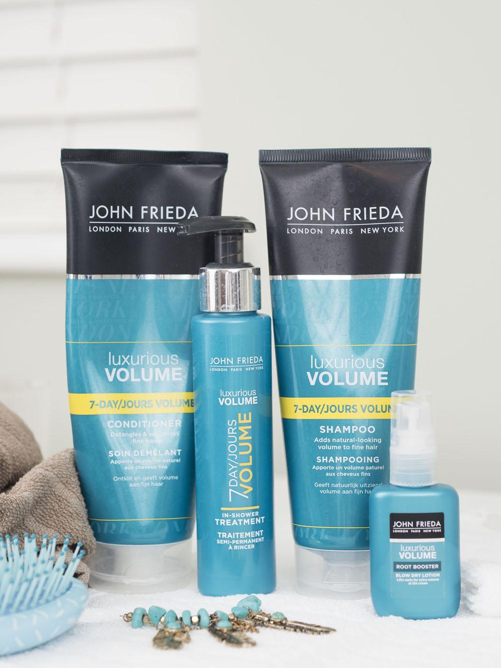My Winter Favourites For Healthy Hair - John Frieda Luxurious Volume