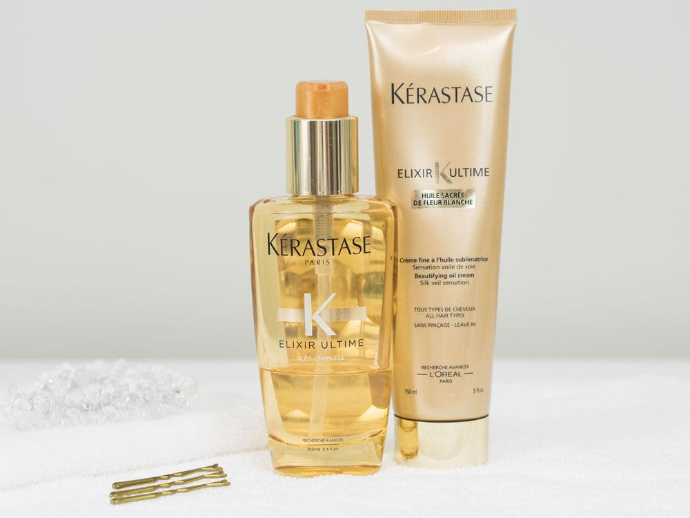 My Winter Favourites For Healthy Hair - Kerastase Ultime Elixir Beautifying Oil Cream