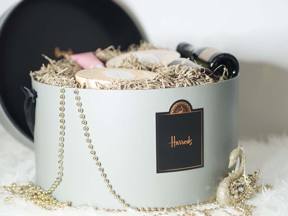 The Indulgence Gift Box | Harrods Christmas Hampers
