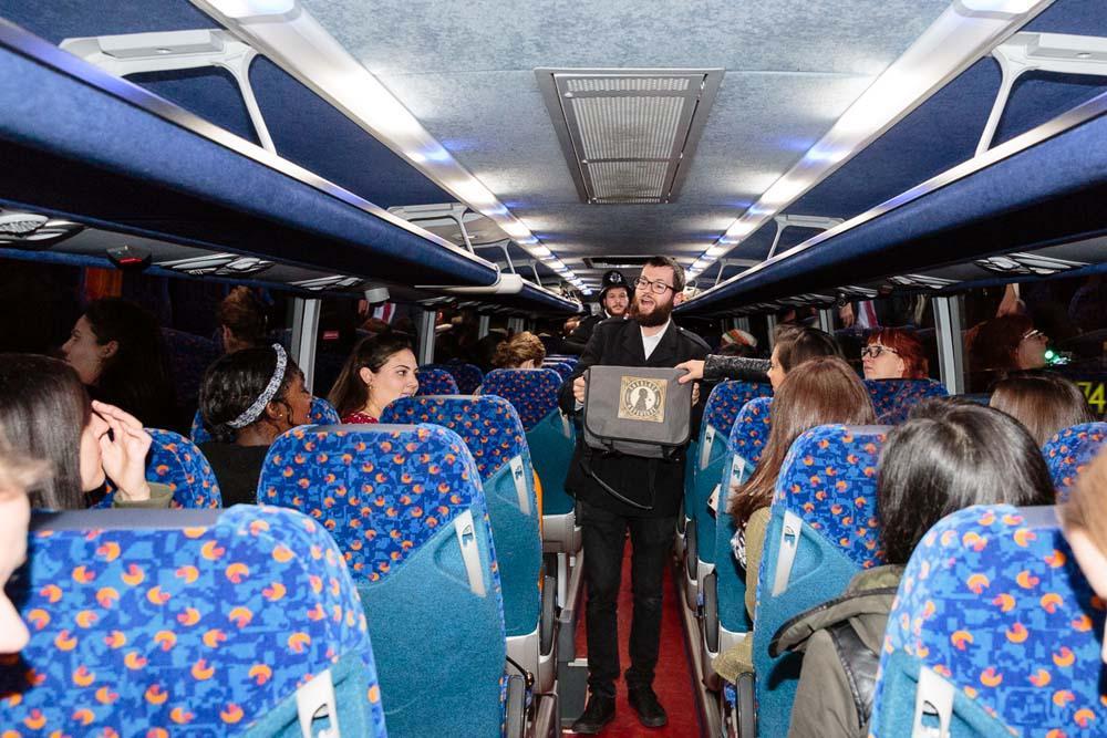 A MegaMysteryBus Tour with Megabus