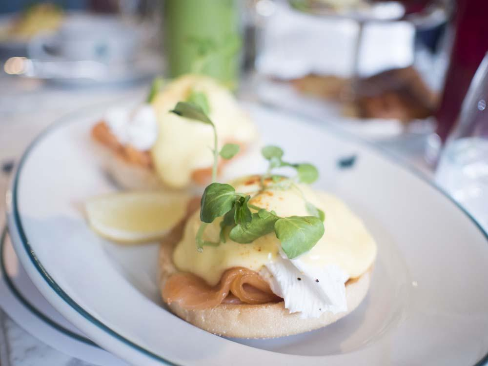 Breakfast at The Ivy Cambridge Brasserie