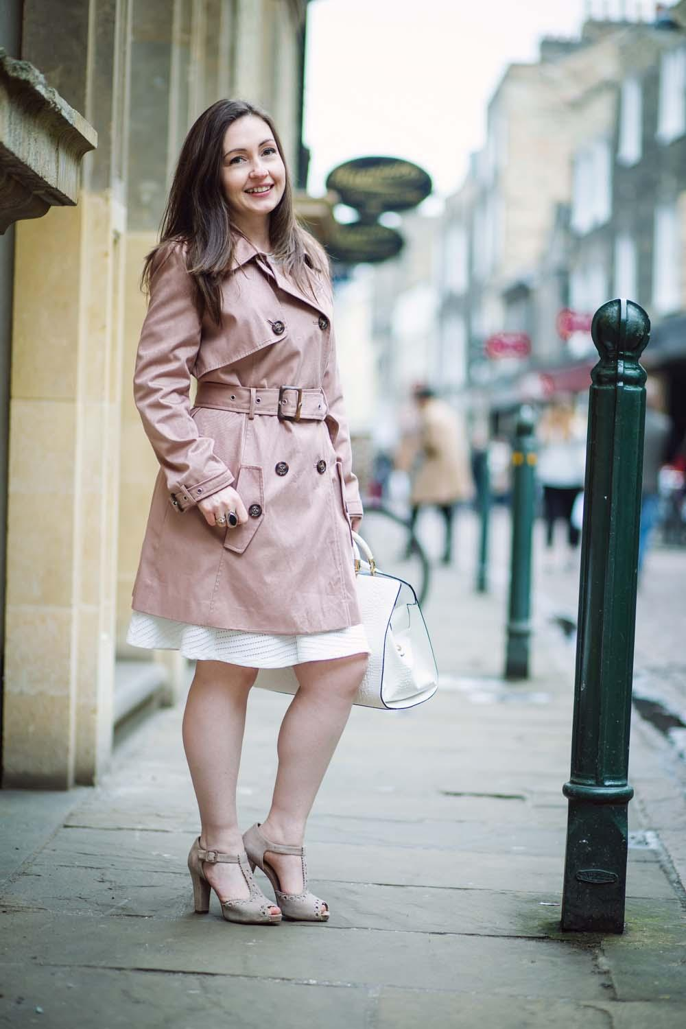 The Classic Trench Coat (In Pink!) | Fashion