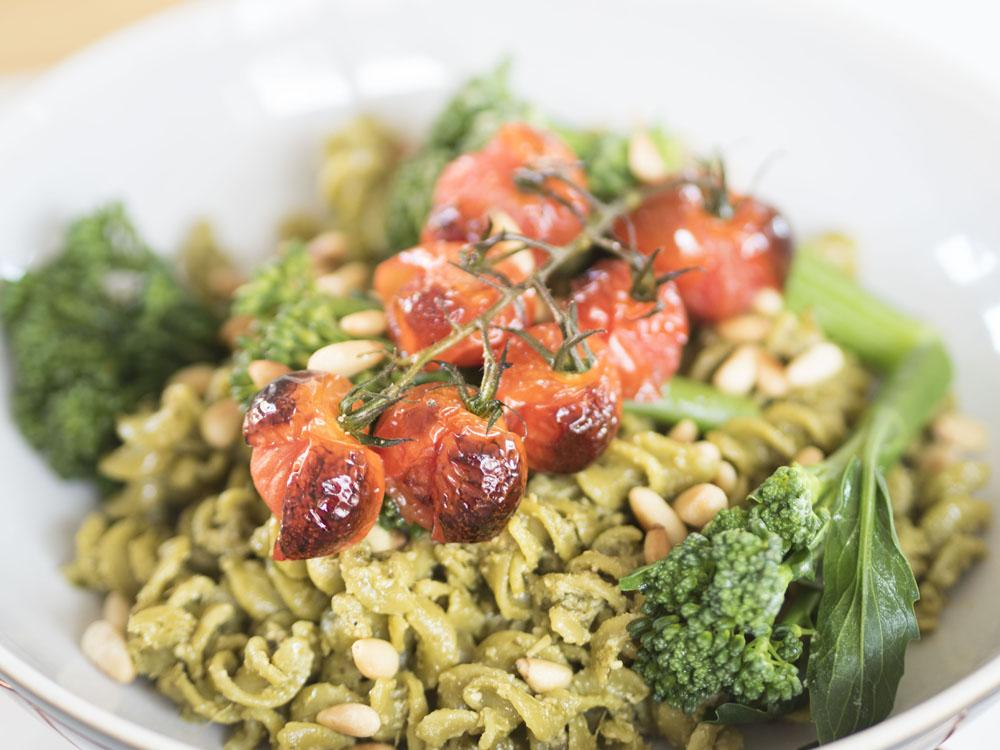 20 Minute Pesto Pasta Easy Vegan