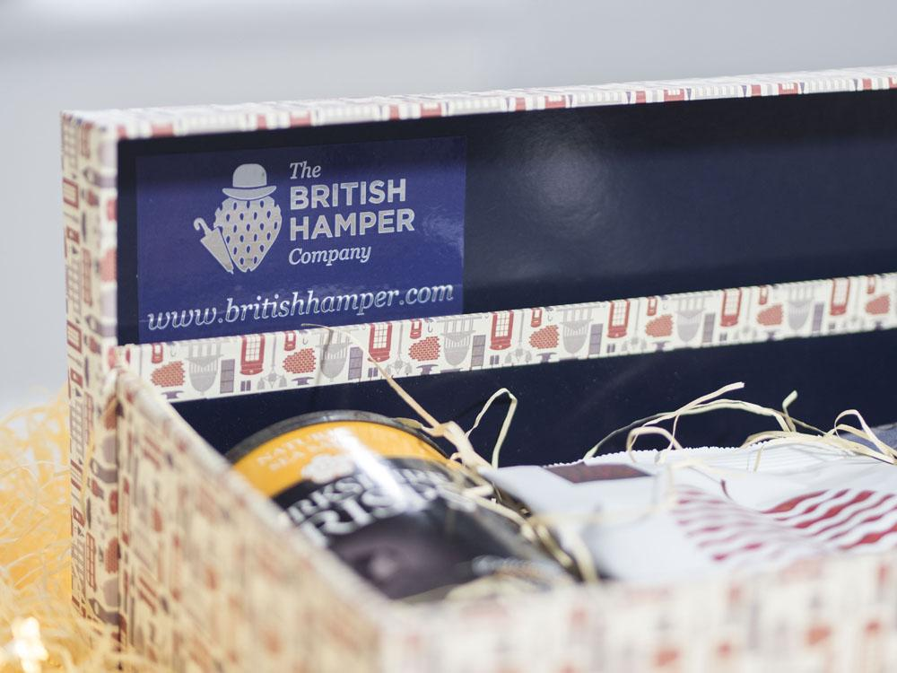The British Hamper Company Deluxe Vegan Hamper