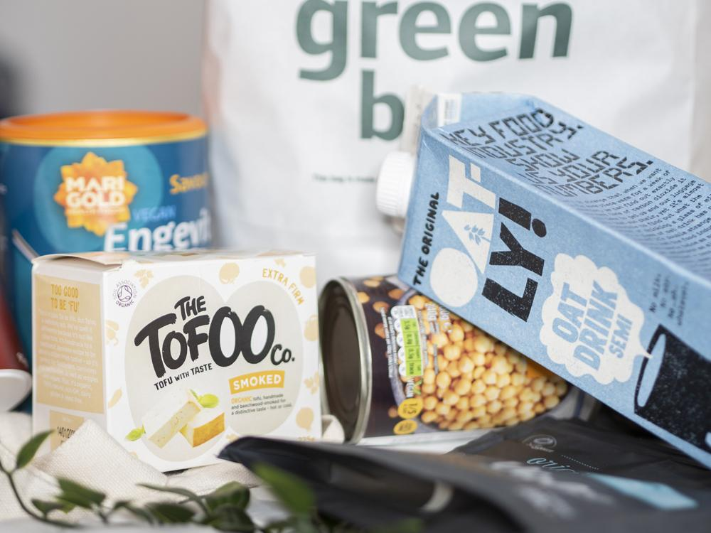 Beginner's guide to vegan food shopping | Veganuary 2020 (picture of Tofoo)